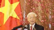 Hình ảnh Tổng Bí thư Nguyễn Phú Trọng chúc Tết đồng bào cả nước