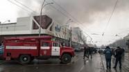 Cháy lớn ở trung tâm thương mại Nga, 64 người thiệt mạng