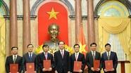 Chủ tịch nước trao quyết định bổ nhiệm Đại sứ cho cán bộ ngoại giao