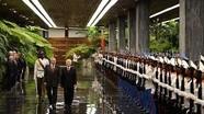 Tổng Bí thư Nguyễn Phú Trọng hội đàm với Chủ tịch Cuba Raul Castro