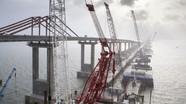 Ông Putin đích thân xem xét lưu thông cây cầu dài nhất nước Nga