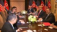 Ông Trump nói gì sau cuộc gặp 40 phút với nhà lãnh đạo Triều Tiên?