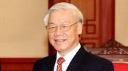 Tổng Bí thư Nguyễn Phú Trọng gửi điện mừng tới Đảng Nhân dân Campuchia