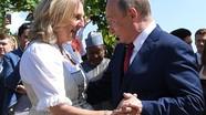 Ông Putin khiêu vũ với Ngoại trưởng Áo trong đám cưới