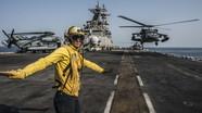 Tàu đổ bộ của Mỹ đến thăm Qatar