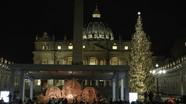 Giáo hoàng giải thích ý nghĩa cây Giáng sinh và phù điêu cát ở Vatican