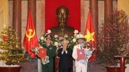 Tổng Bí thư, Chủ tịch nước trao quyết định phong hàm 2 Đại tướng