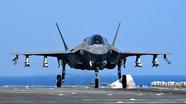 """Siêu tiêm kích F-35 Mỹ phô diễn chế độ """"Quái thú"""" trên Thái Bình Dương"""