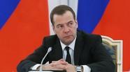Medvedev nêu các điều kiện để tiếp tục vận chuyển khí đốt quá cảnh qua Ukraine