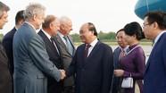 Thủ tướng đến Saint Petersburg, bắt đầu thăm chính thức Liên bang Nga