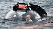 Tổng thống Putin đích thân lặn sâu xuống biển thăm chiếc tàu ngầm bị chìm trong chiến tranh