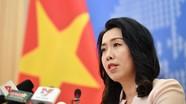 Yêu cầu Trung Quốc rút nhóm tàu Hải Dương 8 khỏi vùng biển Việt Nam