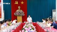 Ban Thường vụ Tỉnh ủy duyệt Đại hội đại biểu Đảng bộ huyện Nghĩa Đàn nhiệm kỳ 2020 - 2025