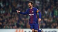 Chiếc giày Vàng khó thoát khỏi tay Messi