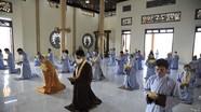 Các chùa ở Nghệ An nghiêm túc phòng dịch Covid-19 trong Đại lễ Phật đản