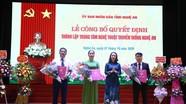 NSND Hồng Lựu được bổ nhiệm Quyền Giám đốc Trung tâm Nghệ thuật truyền thống Nghệ An