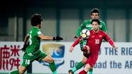 """Video, thống kê: U23 Việt Nam """"anh hùng"""" trước U23 Iraq"""