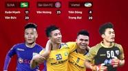 """Những """"cánh én"""" U23 Việt Nam thi đấu như thế nào tại V.League 2018"""