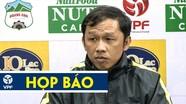 HLV Dương Minh Ninh phủ nhận HAGL chơi câu giờ trước SLNA