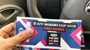 Chung kết lượt về AFF Cup 2018: Cách phân biệt vé thật, vé giả