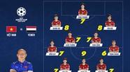 Chấm điểm Việt Nam 2-0 Yemen: Ngọc Hải và Quang Hải xuất sắc nhất