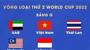 Bốc thăm Vòng loại World Cup 2022: Việt Nam rơi vào bảng đấu thuận lợi