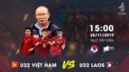 Trực tiếp SEA Games 30: U22 Việt Nam - U22 Lào, Quang Hải và Văn Hậu đá chính