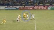 Những lần điển hình SLNA bị trọng tài thổi ép tại V.League