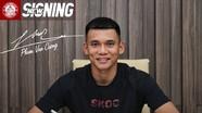 Thêm một cầu thủ Nghệ An gia nhập CLB TP. Hồ Chí Minh