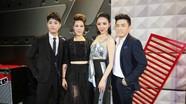 Thu Phương với kiểu tóc nổi loạn cùng Tóc Tiên khoe mình trong buổi ghi hình The Voice