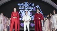 Đỗ Mỹ Linh catwalk cùng dàn thí sinh Hoa hậu Việt Nam 2018