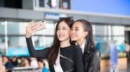 Hoa hậu Tiểu Vy tiễn Á hậu Phương Nga lên đường thi Hoa hậu Hòa bình