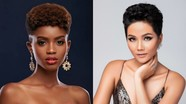 Nhan sắc đối thủ da đen, tóc tém giống H'Hen Niê tại Miss Universe