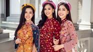 Top 3 Hoa hậu Việt Nam 2018 khoe nhan sắc 'thanh xuân rực lửa' với áo dài