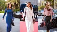 Hoàng hậu Jordan là biểu tượng thời trang thế giới