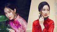 Người đẹp Top 5 Hoa hậu VN 2018 gợi ý áo dài đón Tết Kỷ Hợi