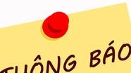 Ban Tuyên giáo Tỉnh ủy mời chào hàng cạnh tranh xuất bản sách
