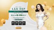 Cơ hội nhận 6 suất thẩm mỹ miễn phí cùng nhiều quà tặng trị giá 6 tỷ đồng cho khách hàng Nghệ An
