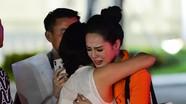 Bạn gái của cầu thủ 'hot boy U23' khóc nức nở khi bị loại ở Hoa hậu Thế giới Việt Nam