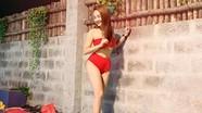 Phát 'sốt' với ảnh bikini của Bảo Thanh