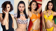 Nhan sắc gợi cảm dàn người đẹp dự thi Hoa hậu Hoàn vũ Việt Nam 2019