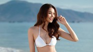 Siêu mẫu Thanh Hằng nóng bỏng với vòng eo 53 cm
