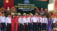Đảng bộ xã Mỹ Sơn (Đô Lương) đại hội nhiệm kỳ 2020 - 2025