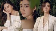Lương Thùy Linh tung bộ ảnh mới cực gợi cảm, khoe vẻ đẹp chuẩn Miss International