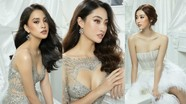 Đỗ Mỹ Linh, Tiểu Vy, Lương Thùy Linh xinh như công chúa với váy xuyên thấu gợi cảm