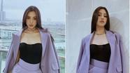 Hoa hậu Tiểu Vy thể hiện gu thời trang đẳng cấp đầy cuốn hút