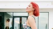 Nữ MC Hoàng Linh lộ hình xăm lớn ở nơi 'khá nhạy cảm' gây chú ý