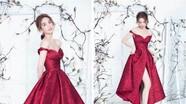 Diện váy xuyên thấu gợi cảm, Ngọc Trinh được khen đẹp như công chúa
