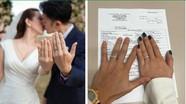Nhan sắc của 'Hoa hậu 3 con' vừa kết hôn với tình trẻ kém 10 tuổi