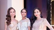 Hoa hậu H'Hen Niê cùng Hoàng Thùy, Mâu Thủy dự lễ trao giải điện ảnh